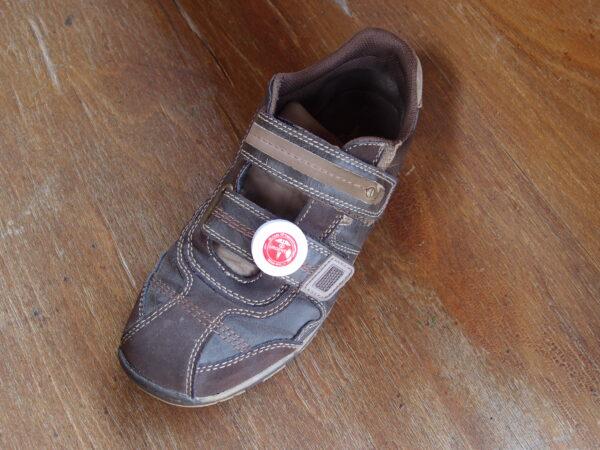 URGENT ID klip na botě