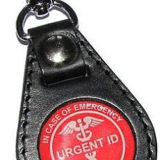 URGENT ID přívěšek