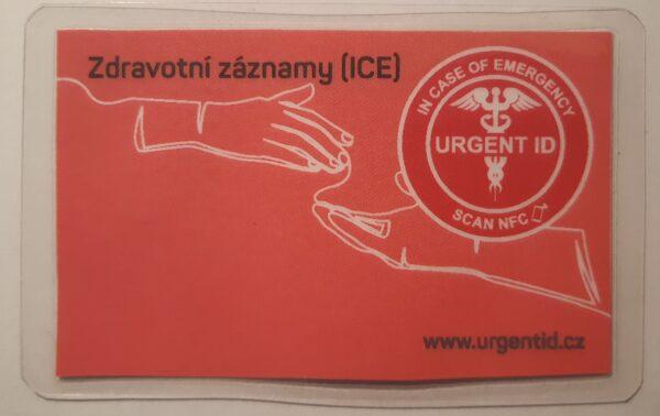 B - chytrá karta URGENT ID