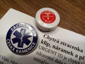 Záchranáři Česká Kamenice a URGENT ID